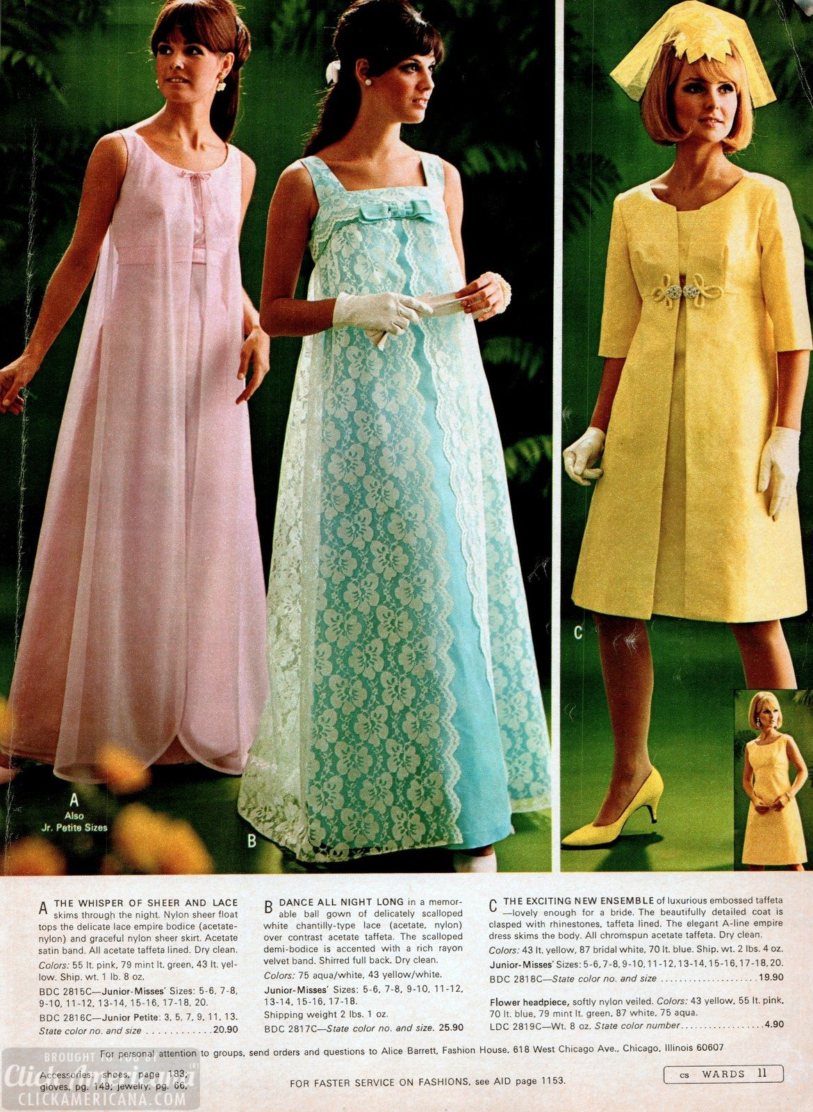 Simple And Stunning 60s Skirts Dresses From The 1968 Wards Catalog Vintage Outfits Fashion 1960 Fashion [ 1600 x 1170 Pixel ]