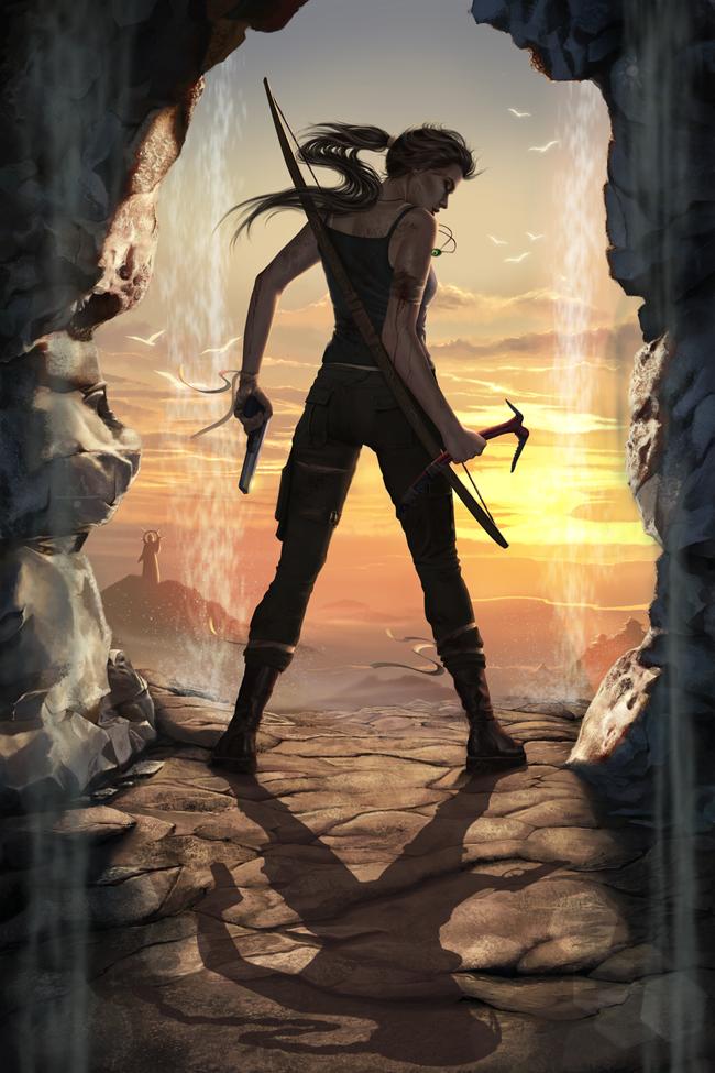25 Ejemplos De Arte Digital Lara Croft Ladrones De