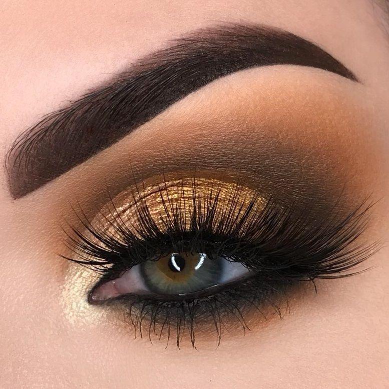 Fabulous Eye Makeup Ideas Make Your Eyes Pop Shimmer Eye Makeup