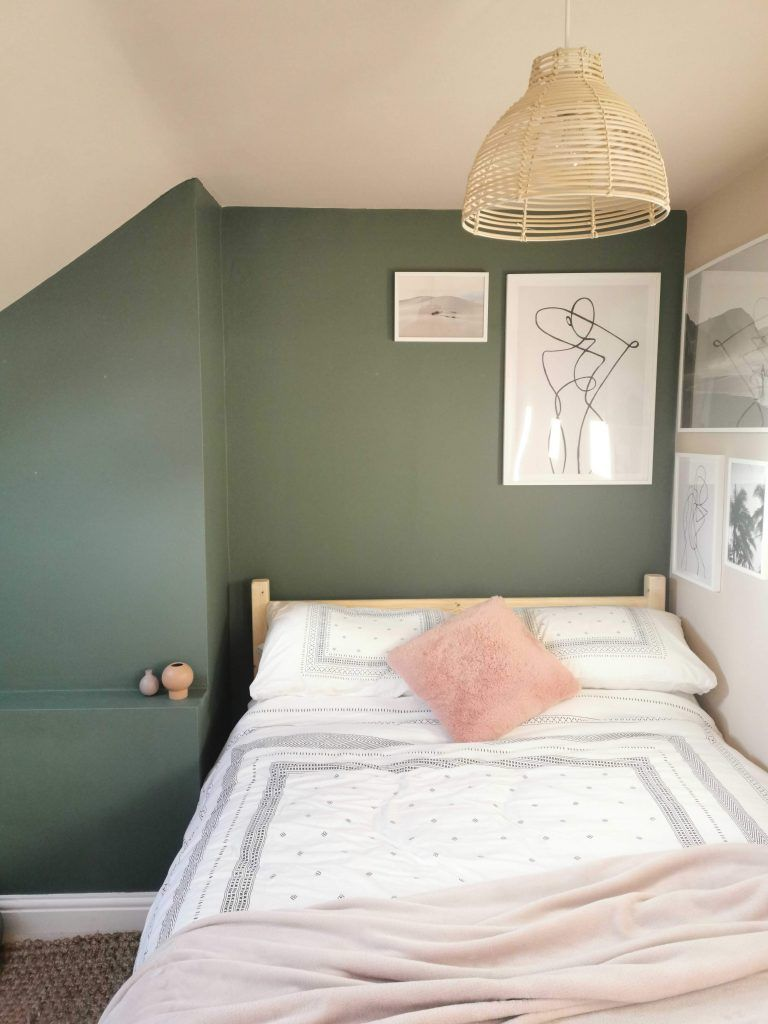 Pin On Aesthetic Green spare bedroom ideas