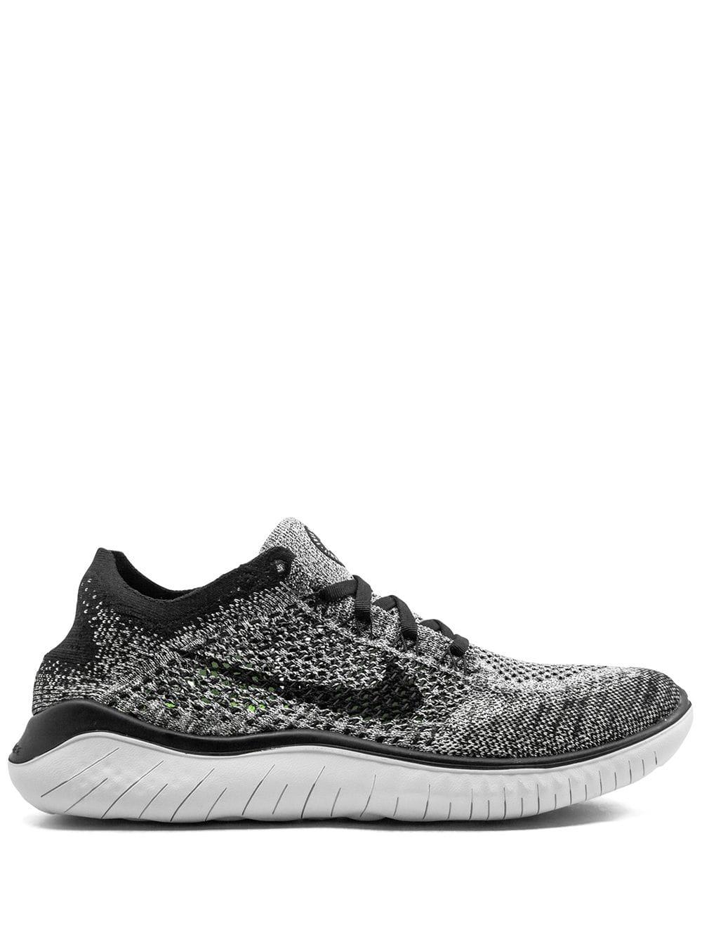 Nike nike free rn flyknit 2018 sneakers white nike