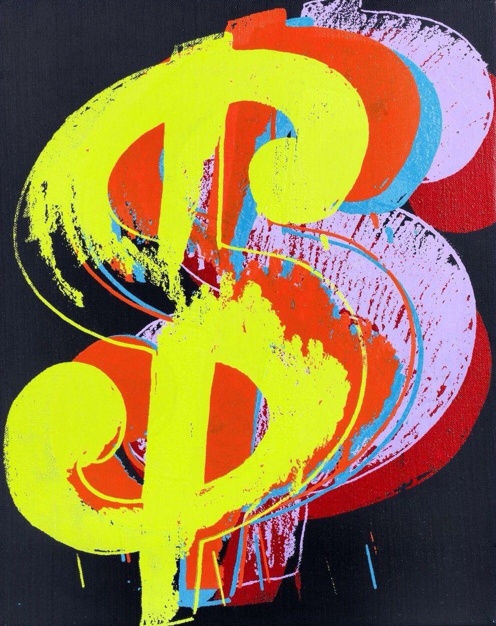 Dollar sign 1982 andy warhol pop art art for sale