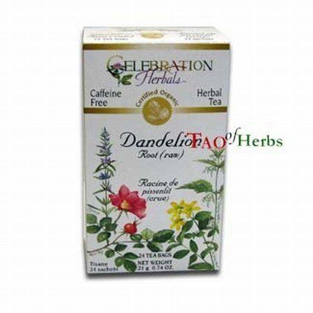 Dandelion Root Raw Tea - Certified Organic - 24 teabags:Amazon:Health & Personal Care