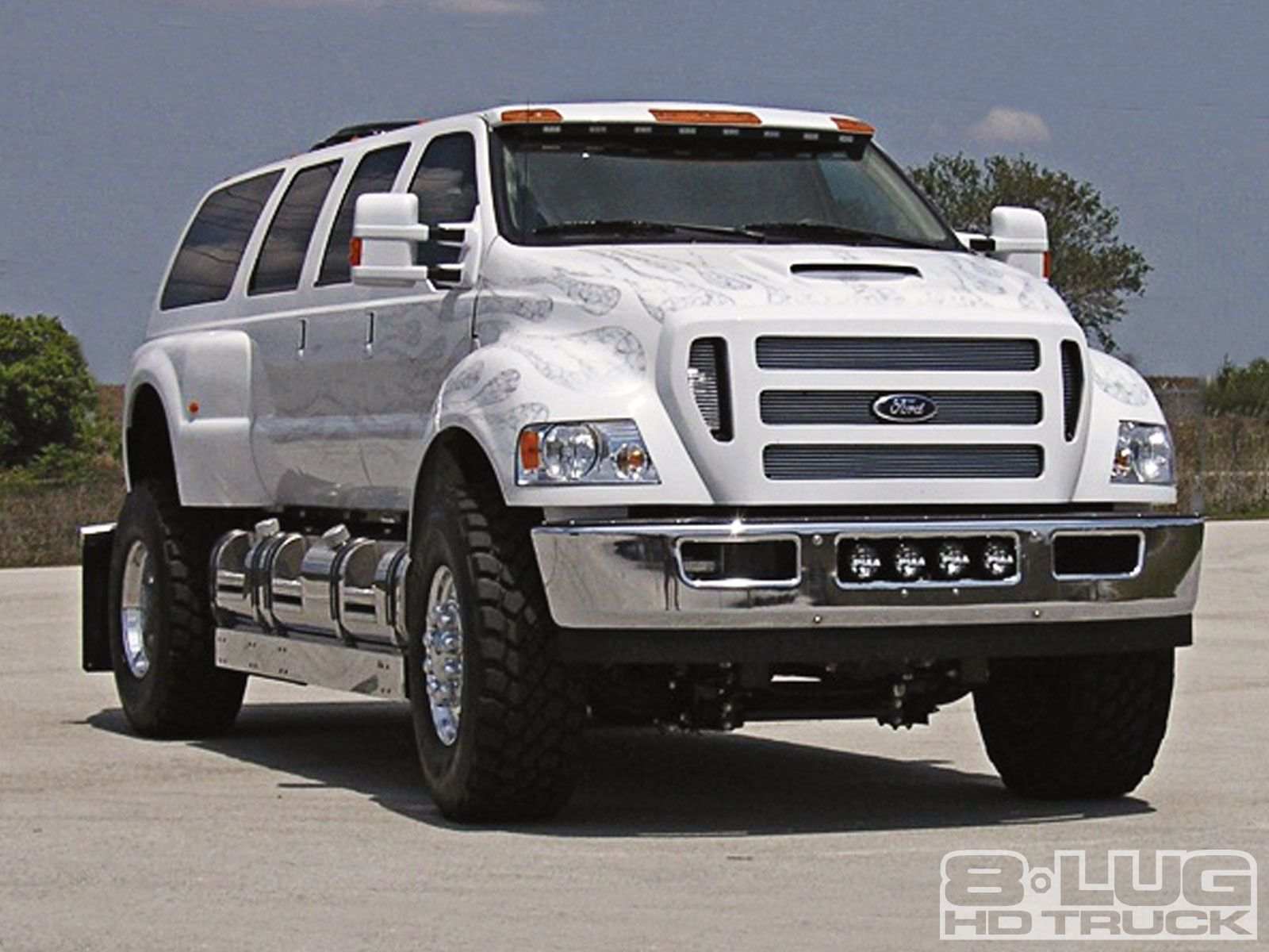 The ford f 650 concept truck is big the ford f 650 concept truck is - Ford F650