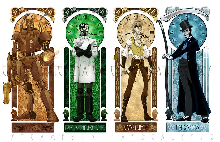 i 4 cavalieri dell'apocalisse in 2019 | Apocalypse art