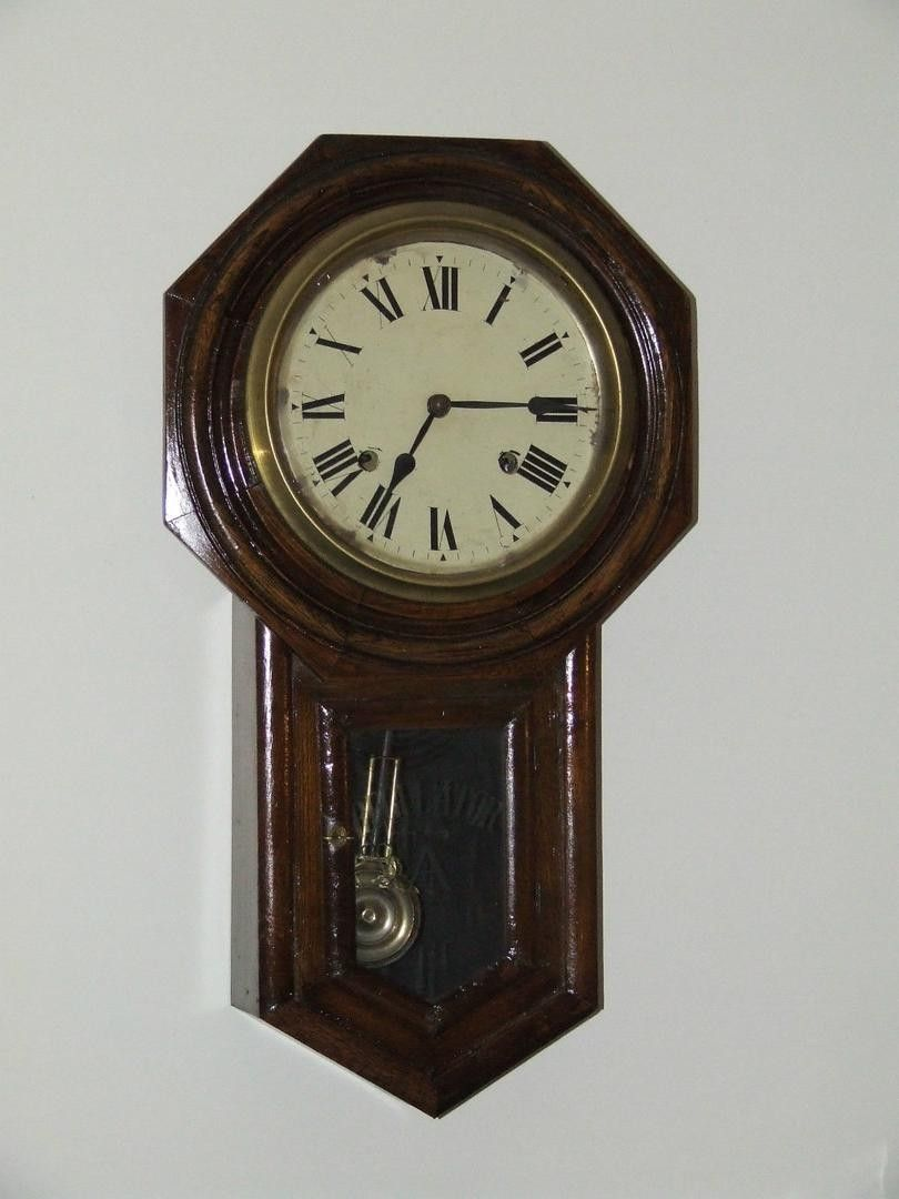 Here Is A Recent Estate Find This Is A Rare Antique 1920 1940 S Japanese Regulator Wall Clock Made By The Seikosha Clock Company T Clock Wall Clock Antiques