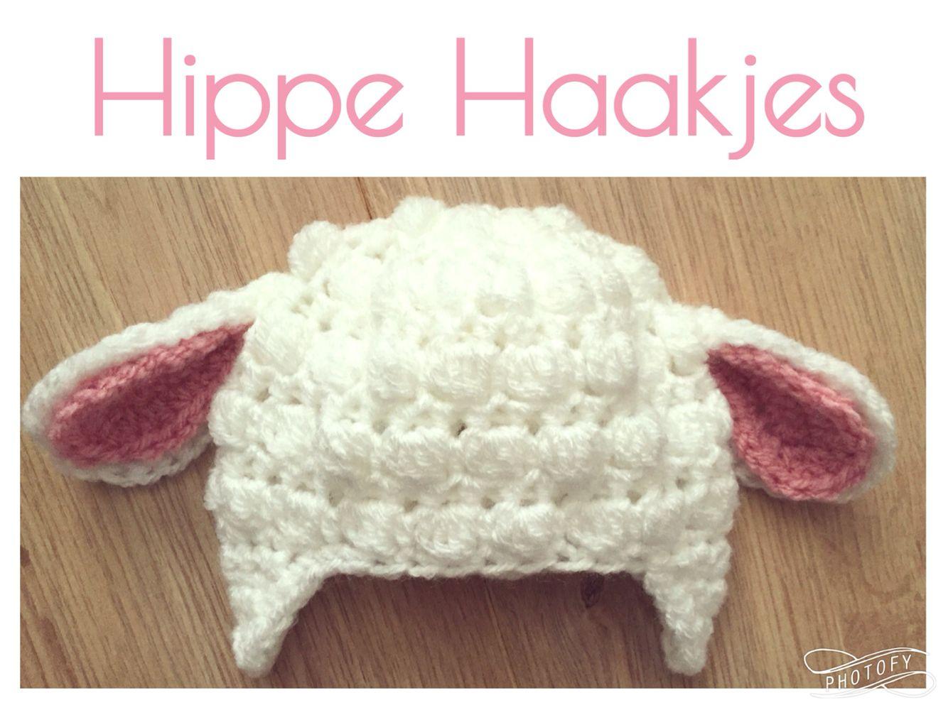 Baby Schapen Mutsje Haken Crochet Baby Crochet Patterns