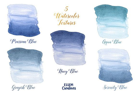 Navy Blue Ombre Clipart Blue Watercolor Splash For Logo Diy Navy