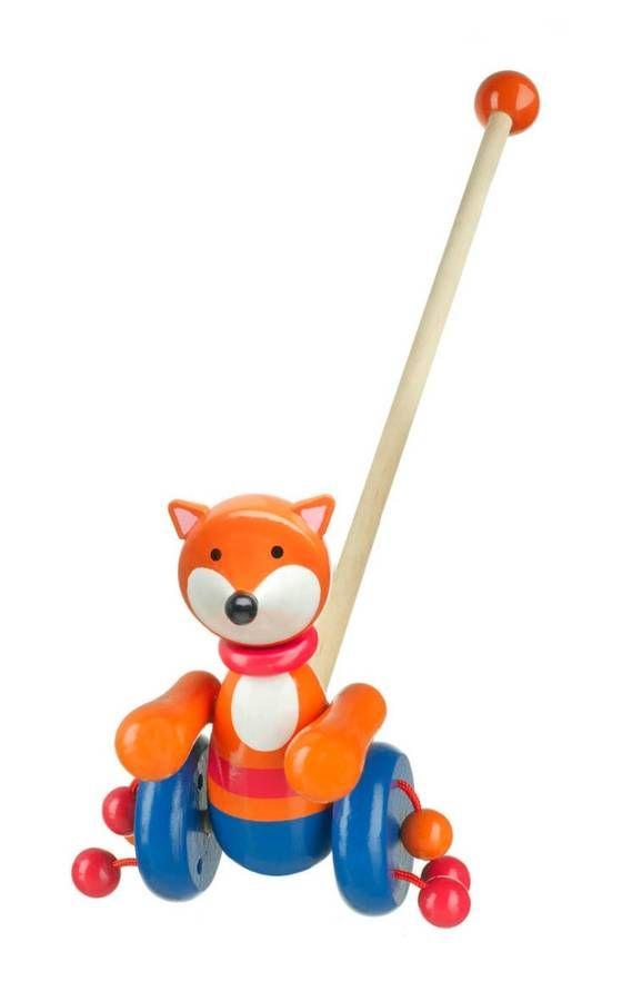 Mr Fox Push Along Toy