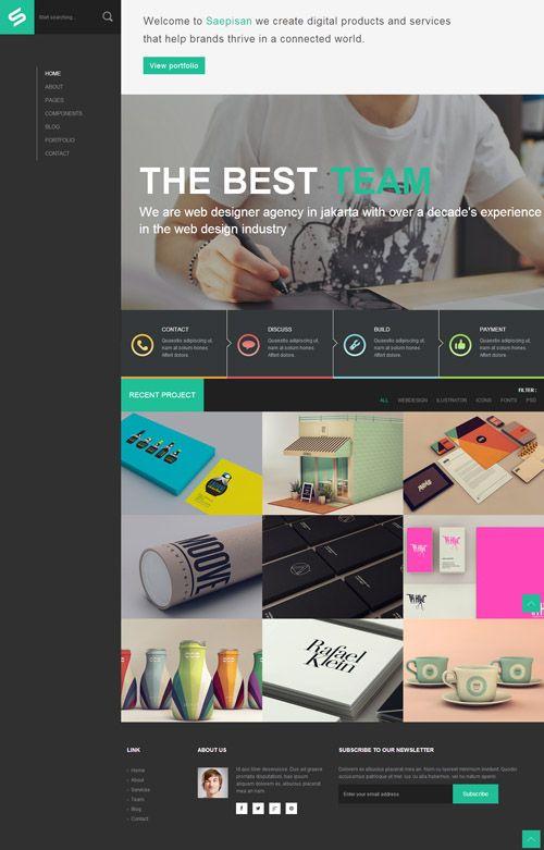 15 High Quality Html5 Css3 Premium Website Templates Website Template Html5 Css3 Web Design
