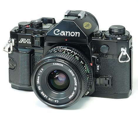 Canon A1  Theirs nothing like the click of the camera  The noise is simply amazing! is part of Slr camera -
