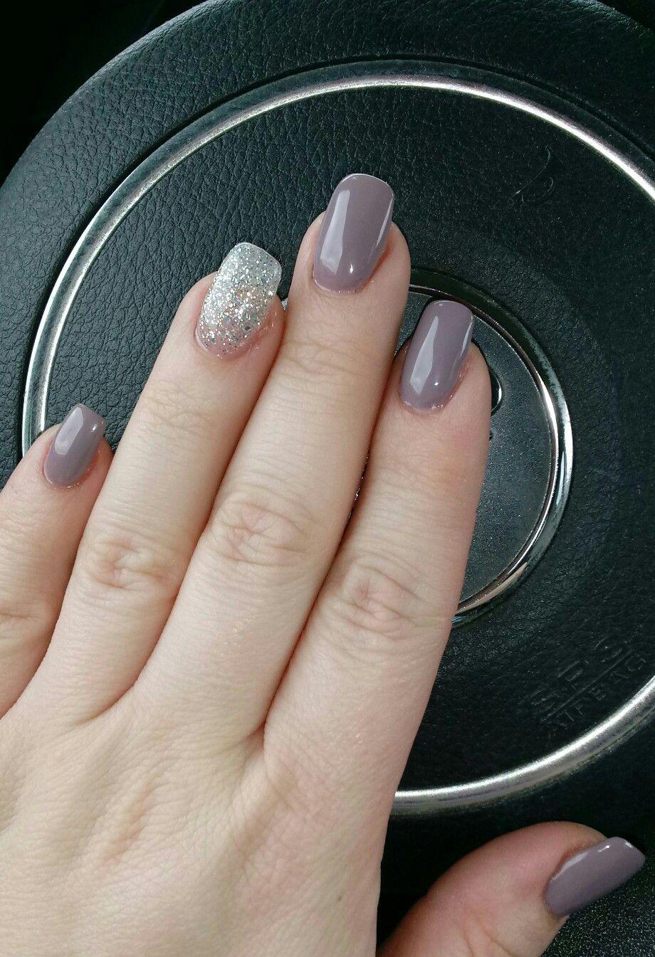 Melting Violet Dnd Sparkling Silver Dnd Gel Polish Gel Nail Polish Colors Cure Nails