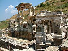 Efez – Fontanna Trajana
