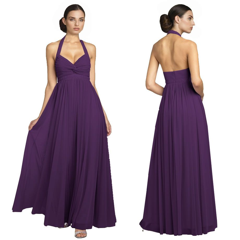 Purple evening gowns dresses sparkling full flowy evening