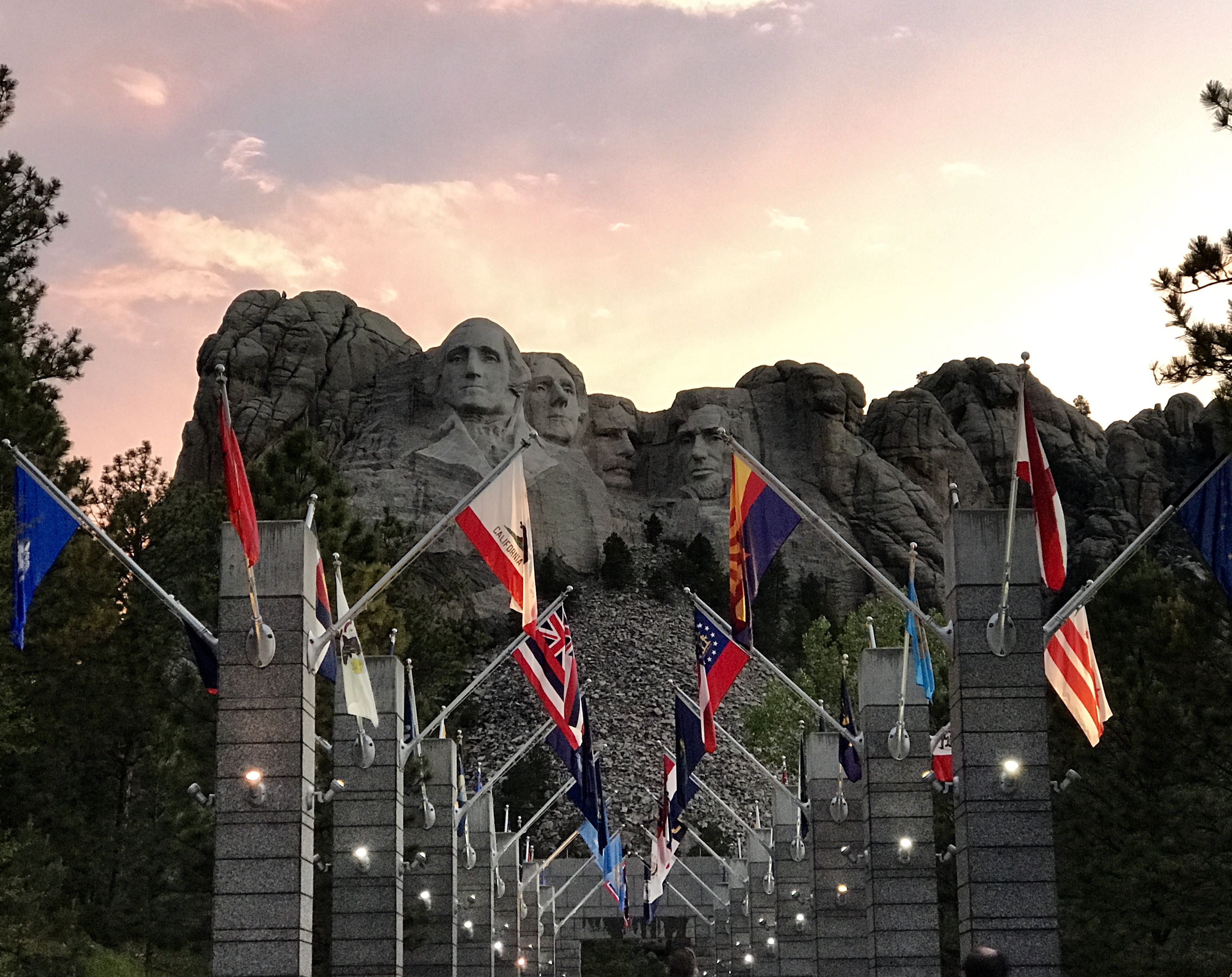 Just before Lighting Ceremony at Mount Rushmore National Park  sc 1 st  Pinterest & Just before Lighting Ceremony at Mount Rushmore National Park ... azcodes.com