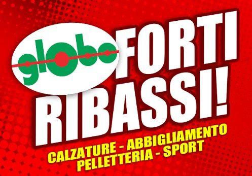 Ancora più in bassooooOOoo!!!   I prezzi Globo scendono ancora più in basso, venite a scoprire le fantasctiche offerte di fine stagione!