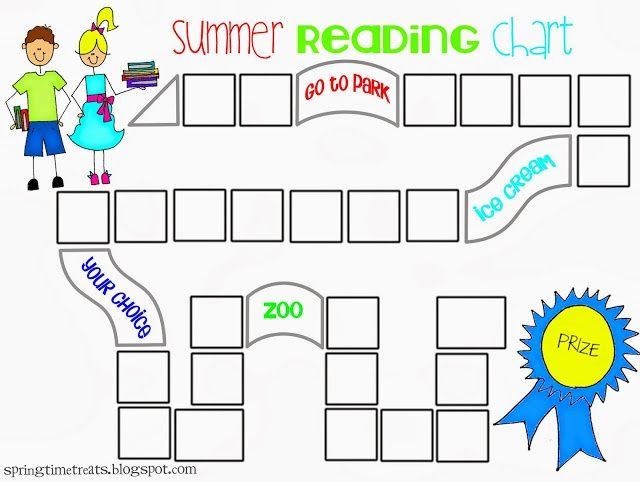 free printable homework charts for kids | Summer Reading Chart ...