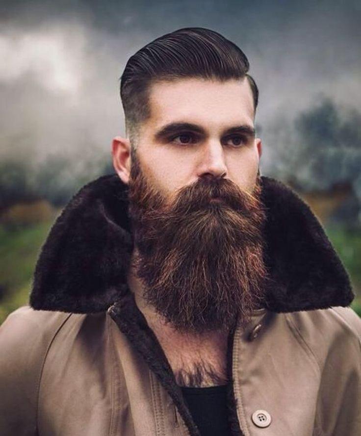 Lindos Os Penteados Dos Homens Com Barbas De 2018 Melhores