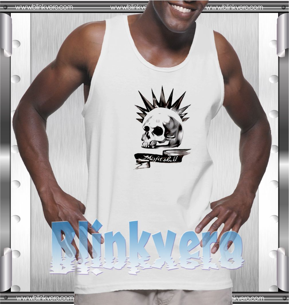 aef4ae8fc32156 Misfit Skull Style Shirts Tank Top for Mens Unisex   Price   10.00   FREE  Shipping     t shirts