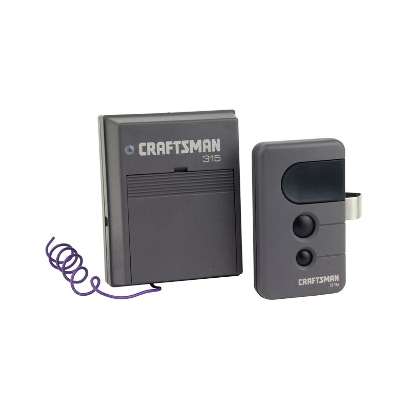 Craftsman remote control 315mhz 3function security