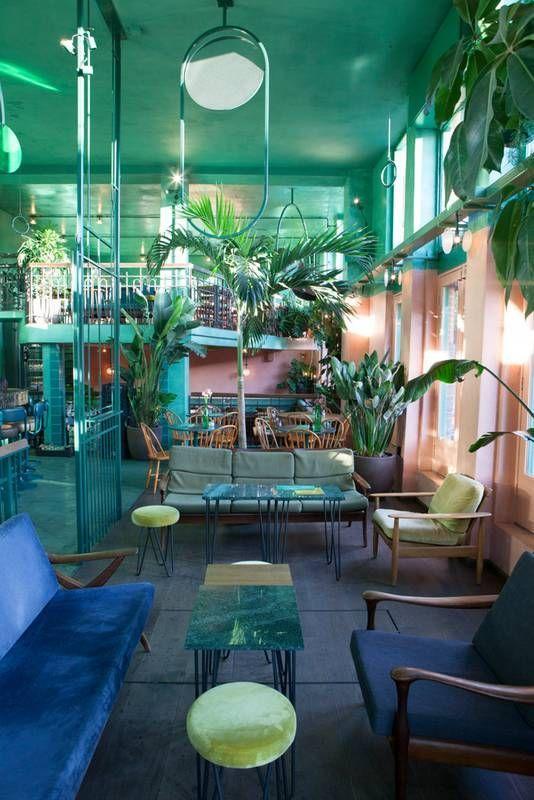 In Amsterdam's Bar Botanique sehen Amsterdam39s Bar