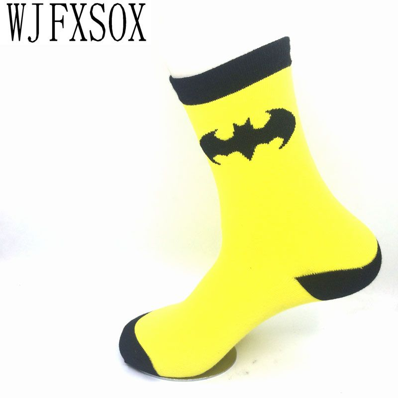 74228a348640 Click to Buy    WJFXSOX 1 pairs lot Hot Superman Batman Captain ...