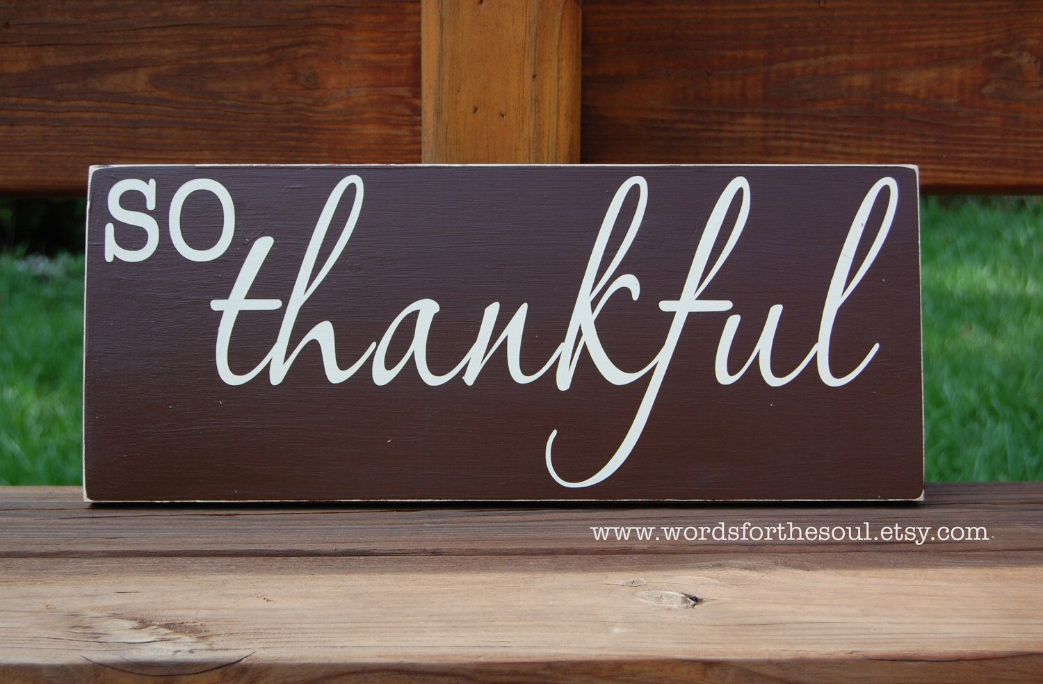 So THANKFUL Thanksgiving Sign Typography Scripture Subway Art  Wooden Sign by WordsForTheSoul on Etsy https://www.etsy.com/listing/111185515/so-thankful-thanksgiving-sign-typography