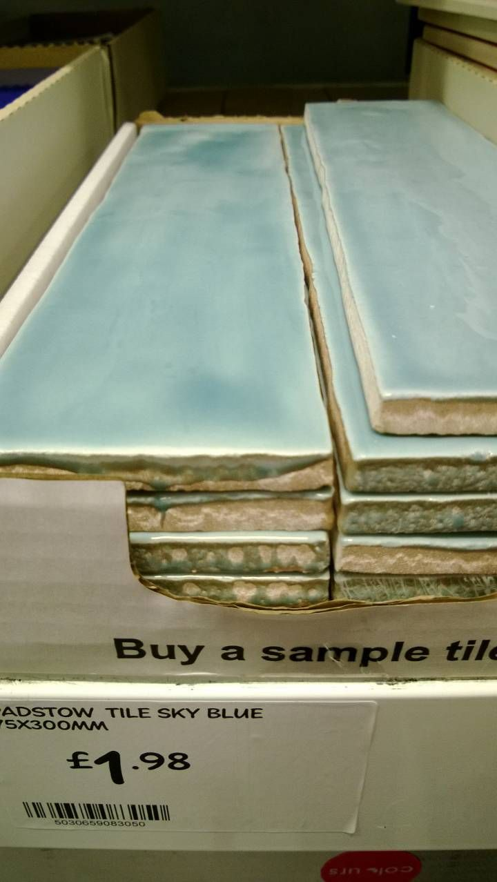 Tile blue b&q | Housey actually by Kelbirdy | Pinterest