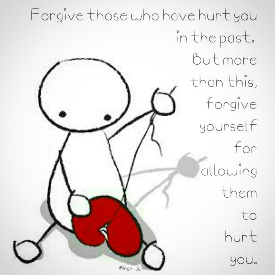"Forgive those who have hurt you in the past. But more than this, forgive yourself for allowing them to hurt you. And remember: ""When your heart is broken, when your heart has cracks in it, it lets the light in, it lets the sun in."""
