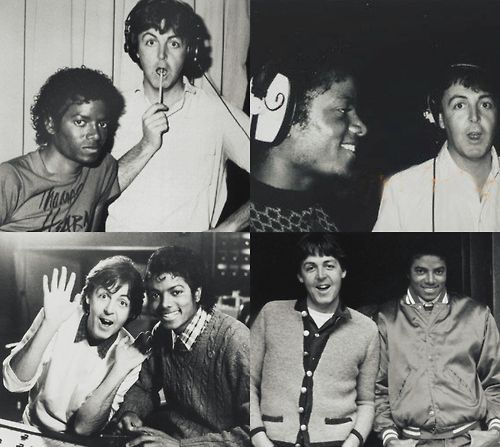 Michael Jackson Paul Mccartney The Girl