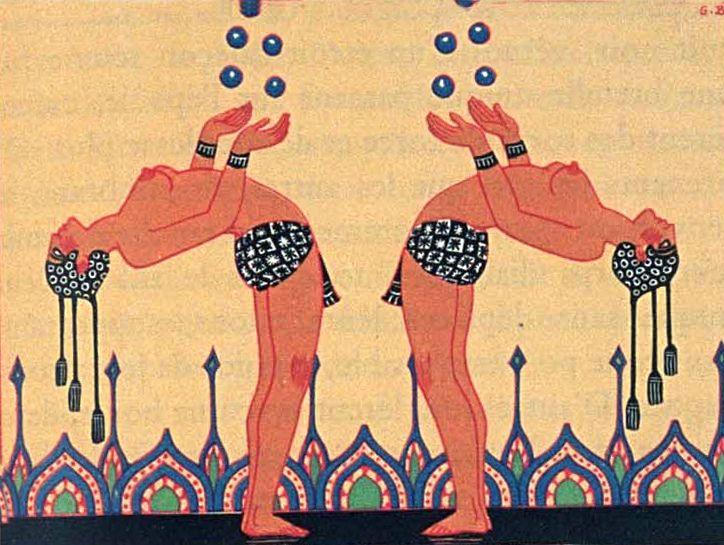 Unusual jugglers