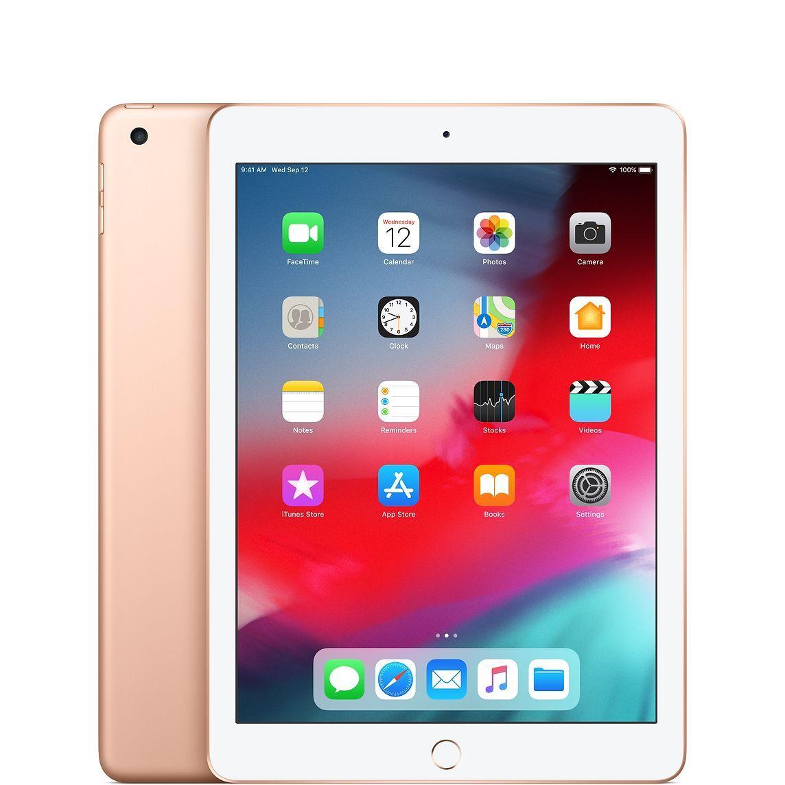 Refurbished iPad WiFi 128GB Gold (6th Generation