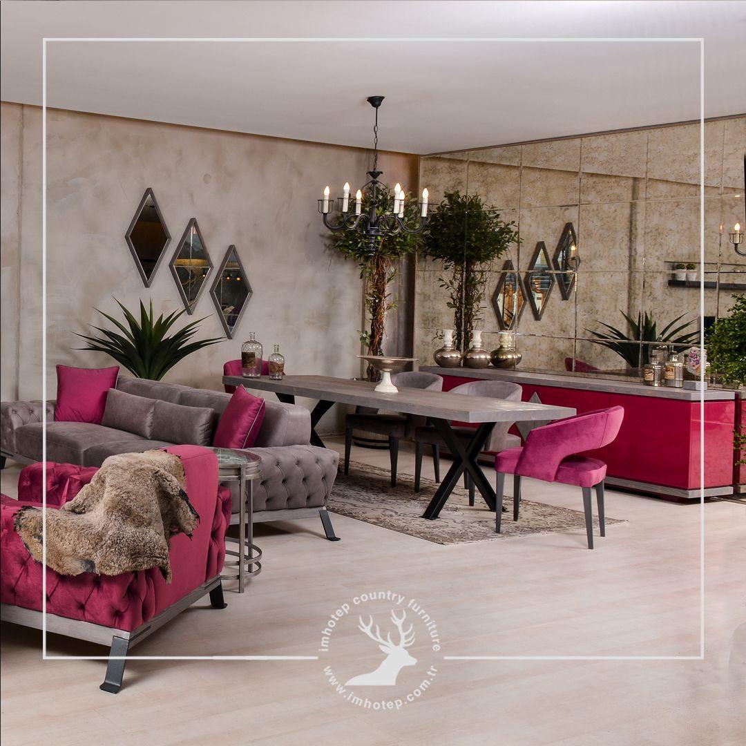 Renk Doku Ve Malzeme Harmaniyla Olusturulan Dekorasyon Ile Kisisel Ve Carpici Mekanlar Yaratabilirs Oturma Odasi Tasarimlari Oda Dekoru Oturma Odasi Fikirleri