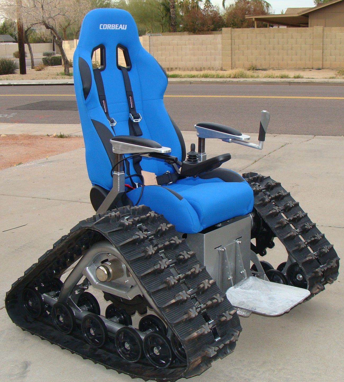 Tank Chair Wheelchair Target Accent Chairs The For Preppers And Survivalists See It Believe Do Watch Thousands Of Spinal Cord Injury Videos At Spinalpedia Com