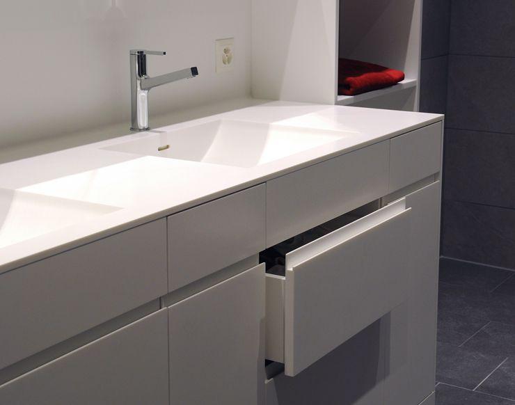 Waschbecken küche weiß  Badmöl in Corian weiss WIPF+CO. AG Der Qualitäts SCHREINER ...