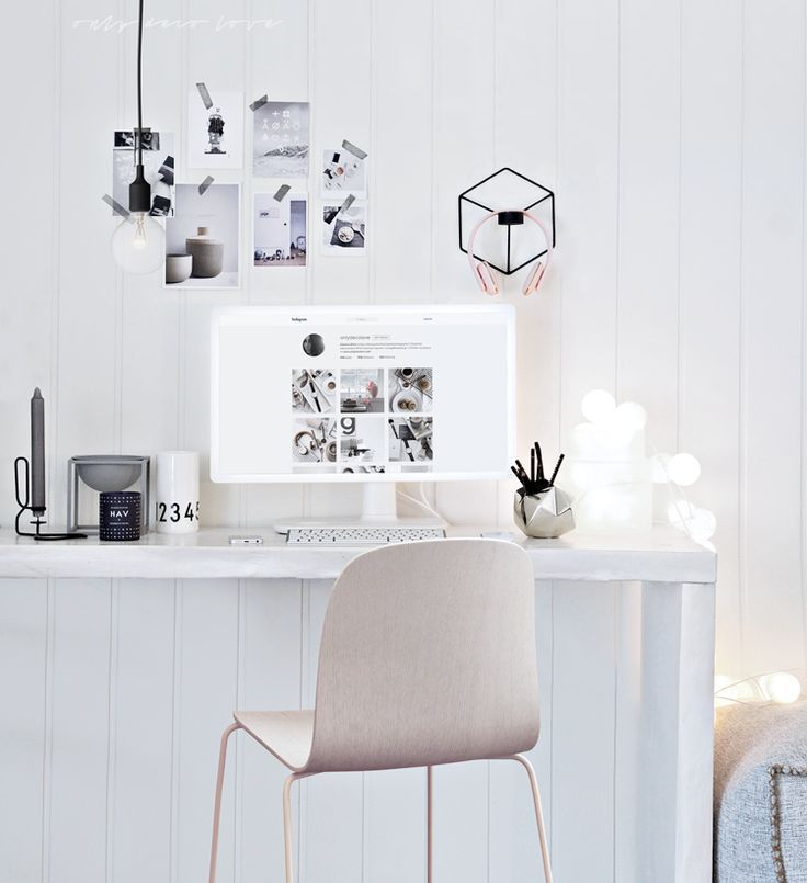 Workspace Inspiration · Only Deco Love: The Home Office