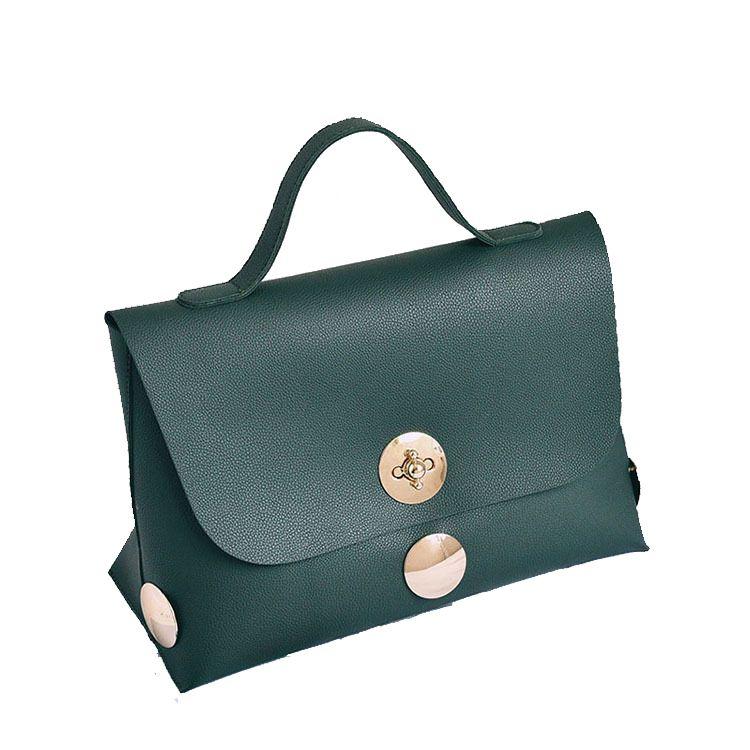 2017 Fashion Women Bag Large Top handle Bags Fashion Brand Designer Purse Handbag Green Vintage Tote Bag Bolsa Feminina