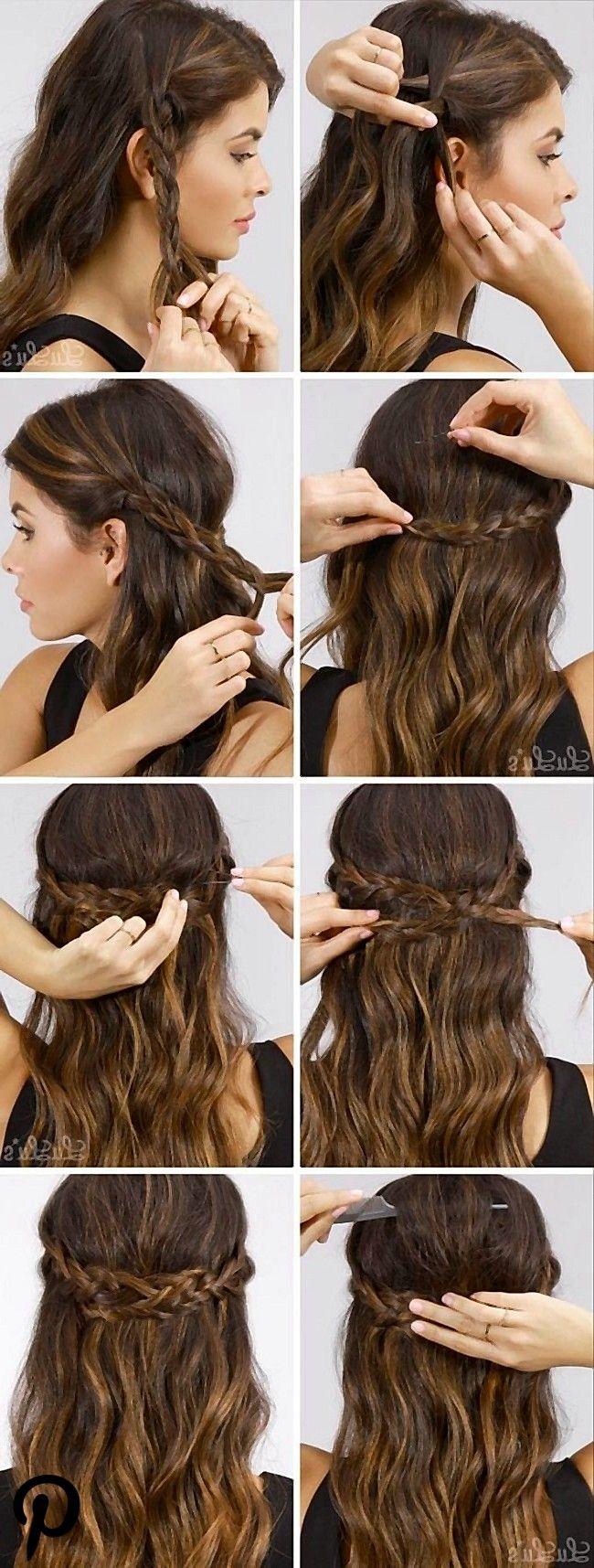 Schnelle #einfache #formale #Party-Frisuren #für #lange #Haar-DIY