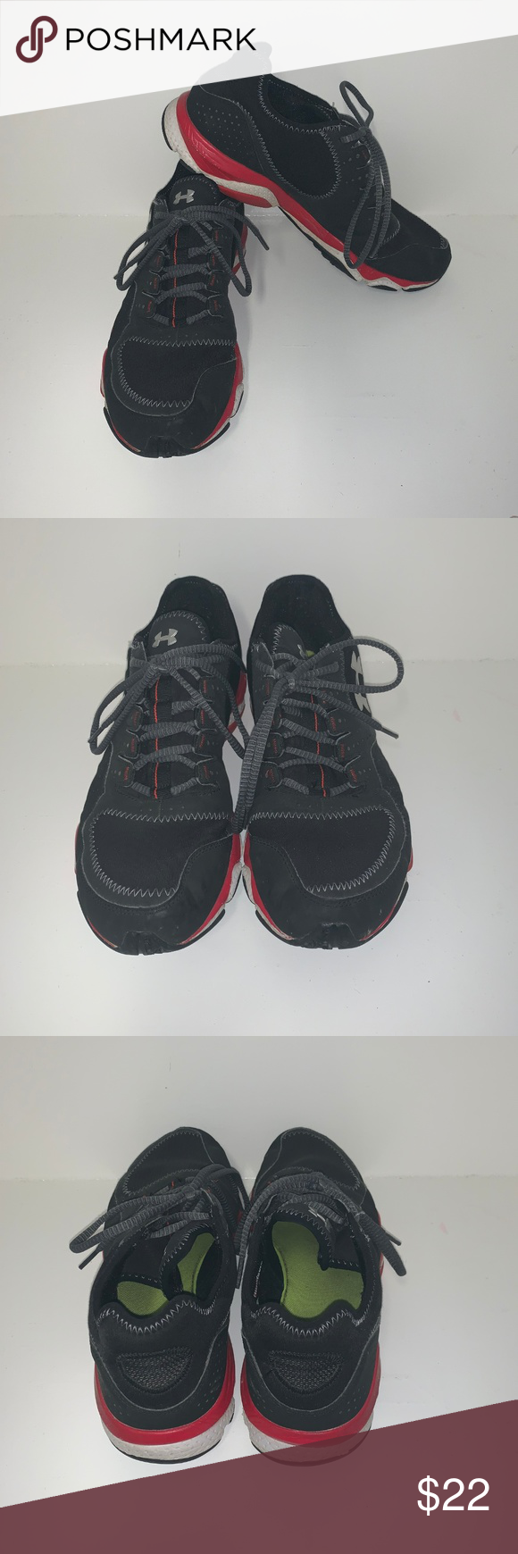 420f5c77cc6 Under Armour Trainers These do show some signs of wear on the bottoms. No  holes or tears