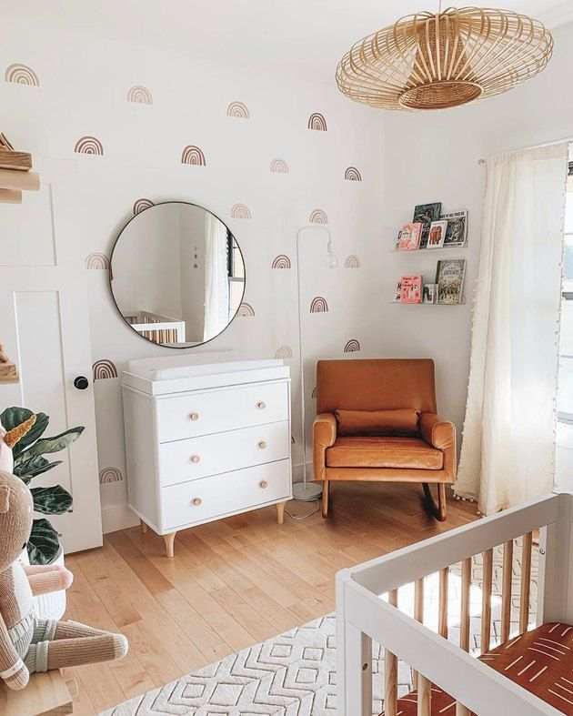 This Nursery Is So Chic and Calming, We Might Just Copy It in Our Own Bedrooms