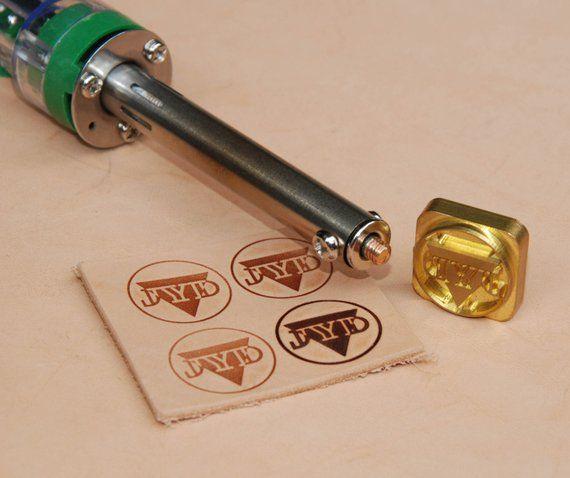 Custom Leather Stamp Heat Embosser Embossing Stamping