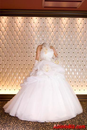 Фотомонтаж онлайн свадебном платье