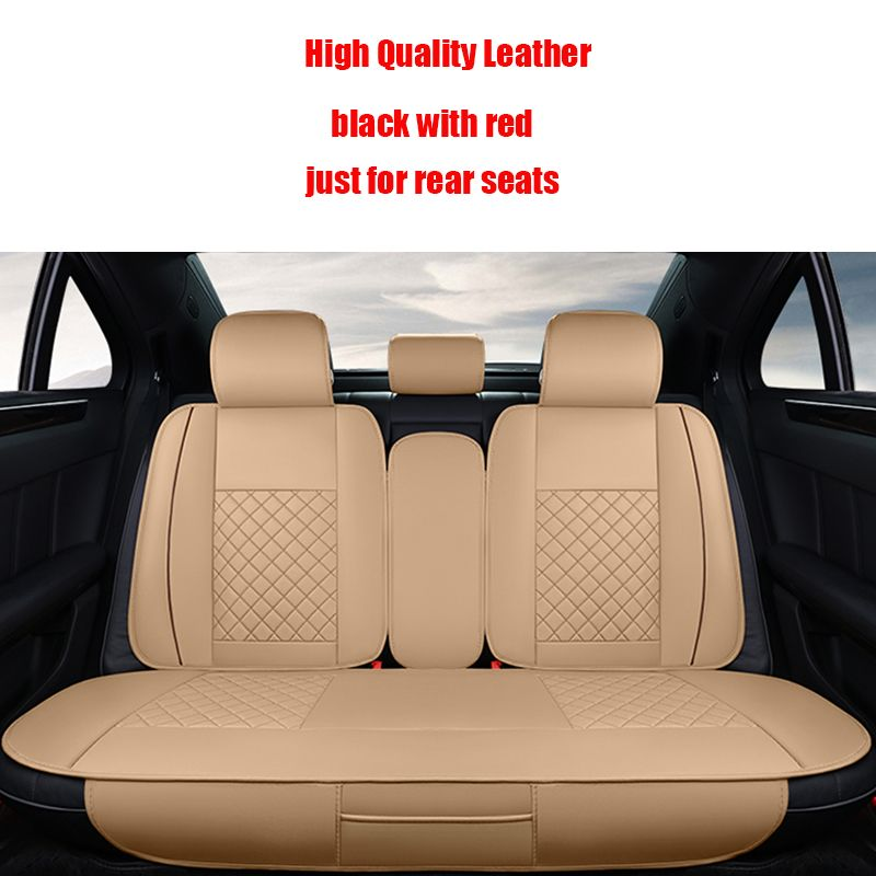 Back Seat Covers Leather Car Cover For Toyota Corolla Camry Auris Prius Yalis Runner Styling Accessories