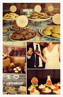 love the milk and cookies idea