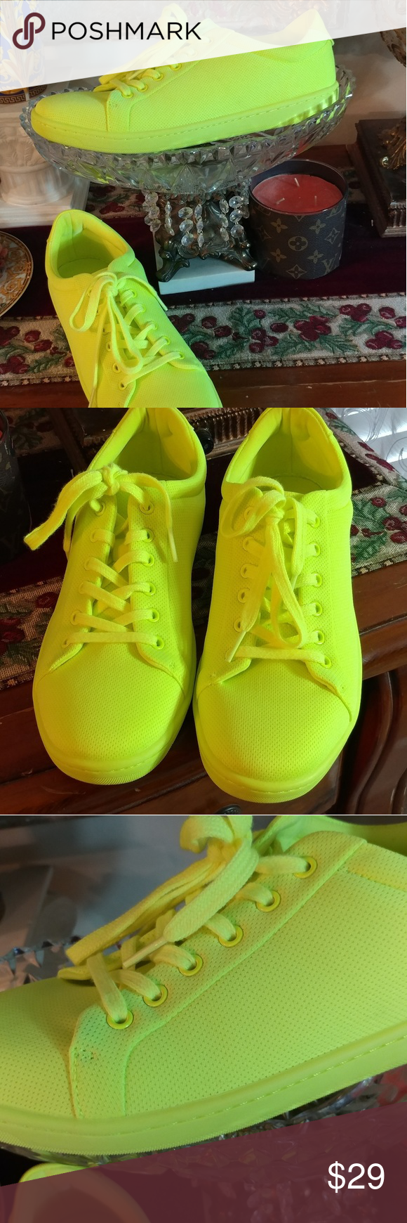 ZARA COLLECTION Fashion Neon Sneakers