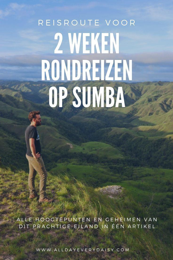 Reizen op Sumba Check de reisroute voor 2 weken Reizen