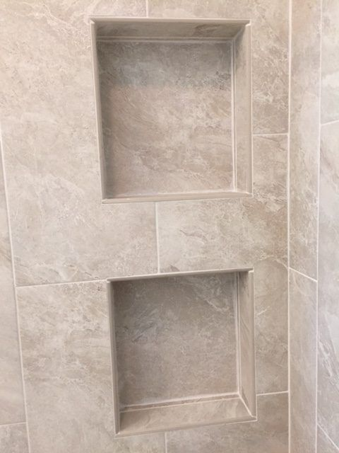 How To Customize Your Shower With Niches, Benches And Even A Soap Dish