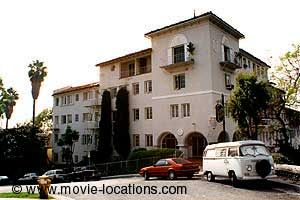 Sunset Boulevard Film Location Alto Nido Apartments 1851 North Ivar Street Hollywood Blvd Rebel Without A Cause