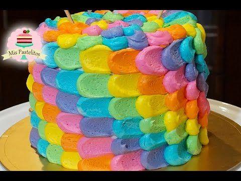 Como decorar un bizcocho pastel y cupcakes f cil con for Como decorar una torta facil y rapido