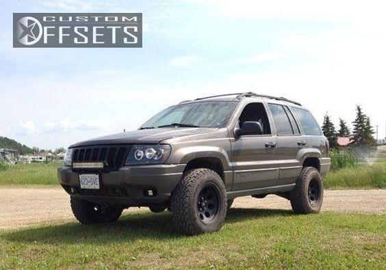 3295 1 2000 Grand Cherokee Jeep Suspension Lift 3 Procomp Wheels